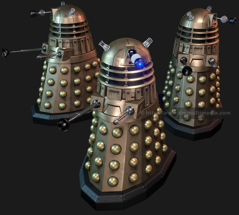 New Series Daleks group shot