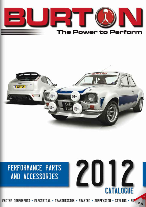 The Burton Power 2012 Catalogue