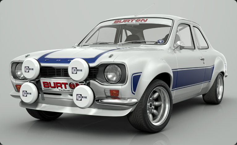 Burton Power Escort RS front view