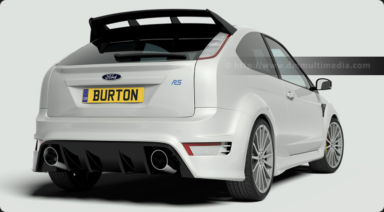 Burton Power Foucus RS rear view