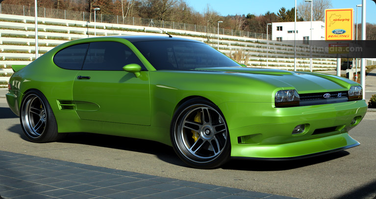 Ford Capri MK IV in Ultimate Green