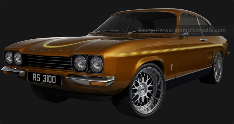 Capri MK1 RS in Roman Bronze with BBS Alloys