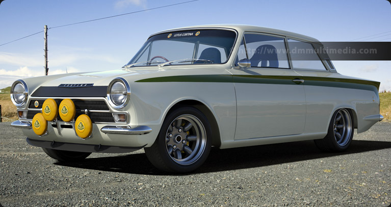 White Lotus Cortina in the hills