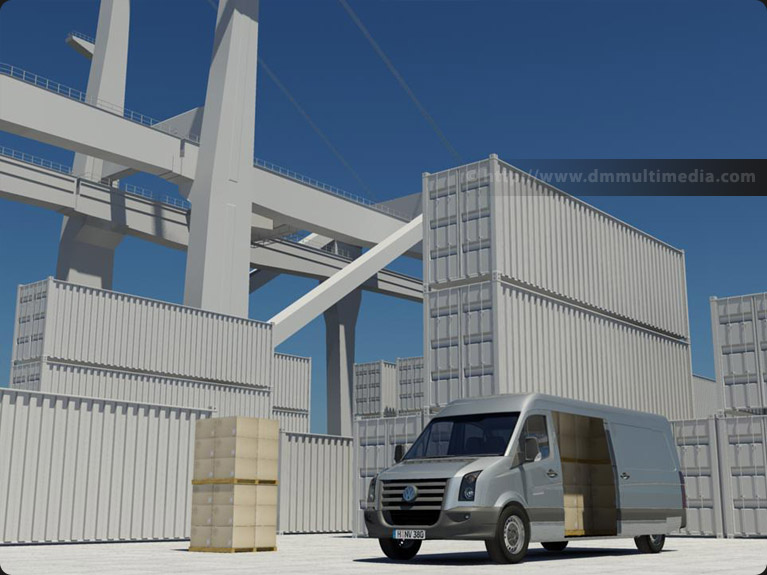 Port - Harbour view Volkswagen Crafter