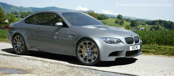 "BMW E92 M3 wit 19"" Alloys in the countryside - test render"
