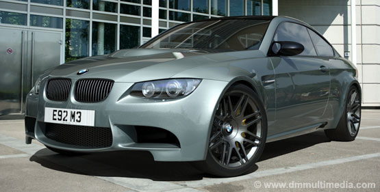 "BMW E92 M3 in Silverstone with 20"" Alloys"