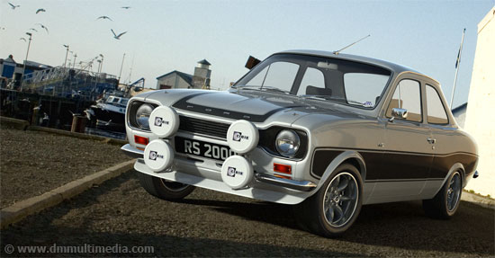 Escort MK1 RS2000 at the Harbour