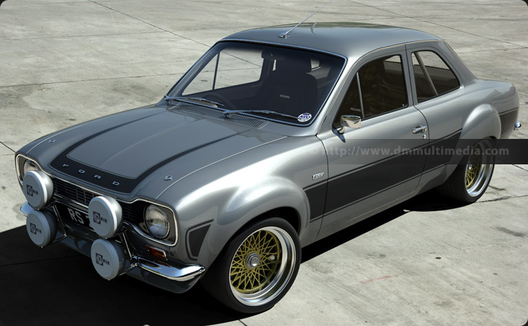 Escort MK1 RS2000 in Silver