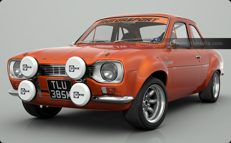 Escort MK1 Sport in Orange