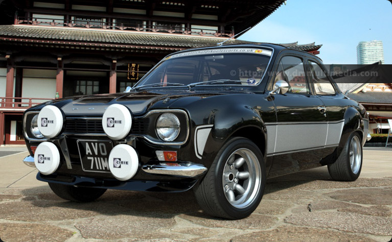 Escort MK1 Mexico with Image Alloys