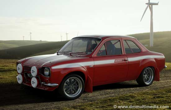 Escort MK1 Mexico by the windmills