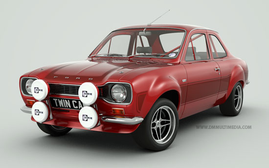 "Bigwing Escort MK1 with 7"" Alloys"