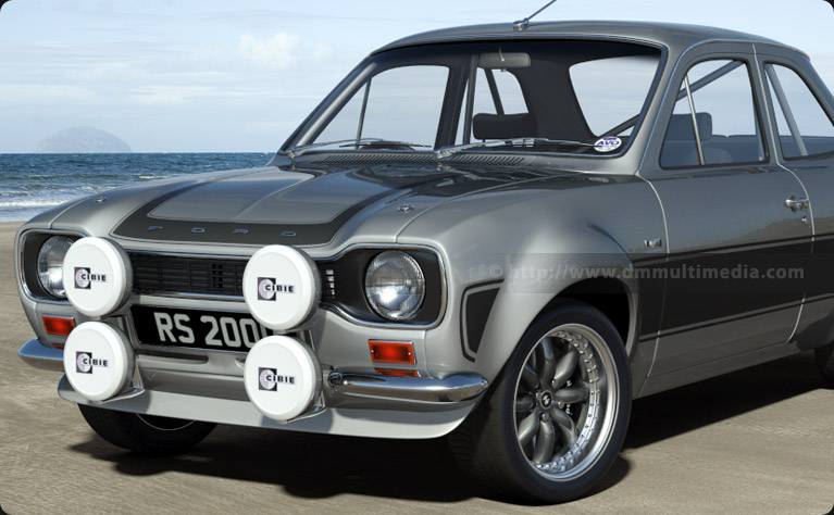 Escort MK1 RS2000 on the beach