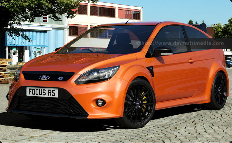Ford Focus MK2 in orange