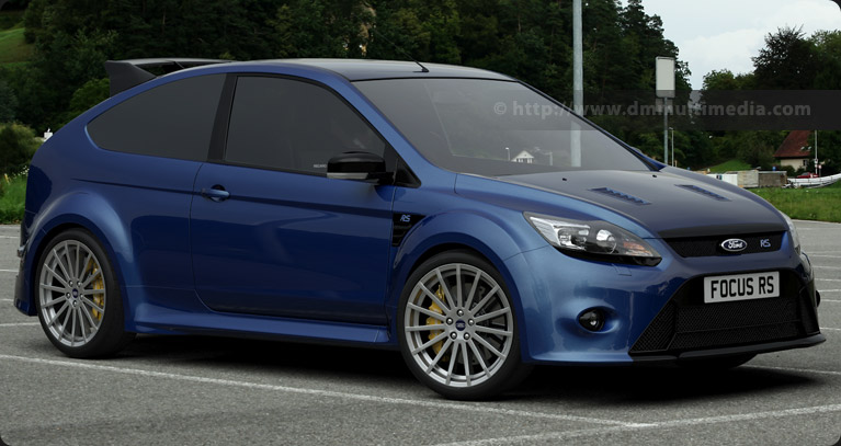 Ford Focus MK2 in Performance Blue