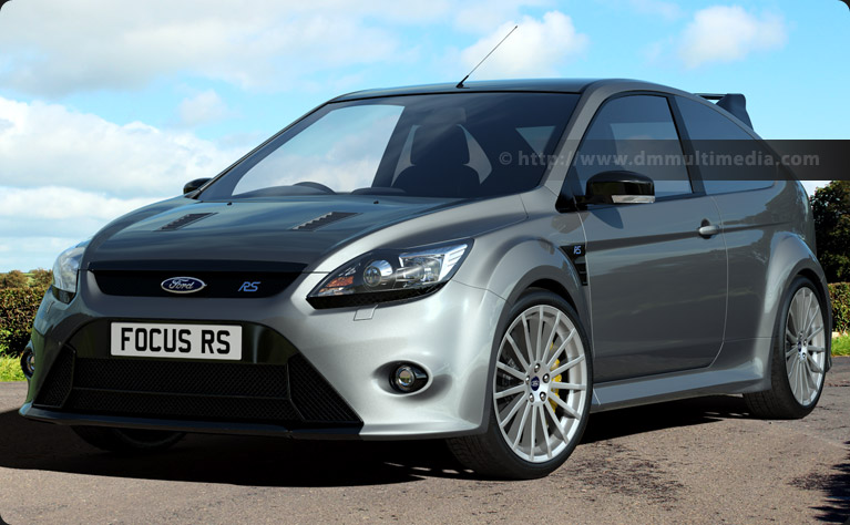 Ford Focus MK2 in Silver