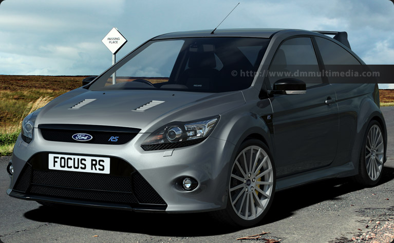 Ford Focus MK2 in Silver on the moors
