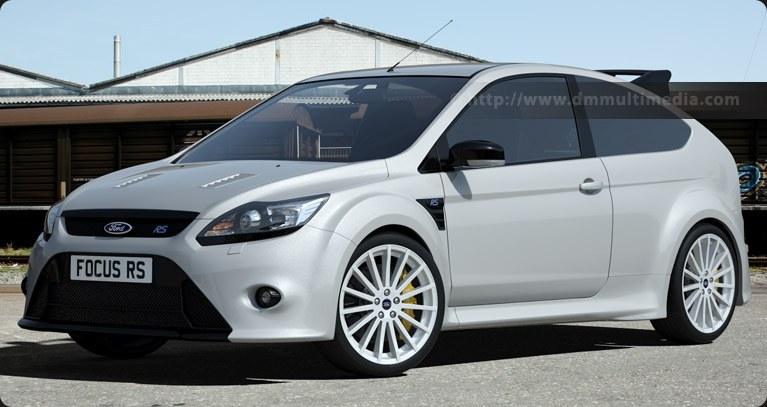 Ford Focus MK2 in Frozen White