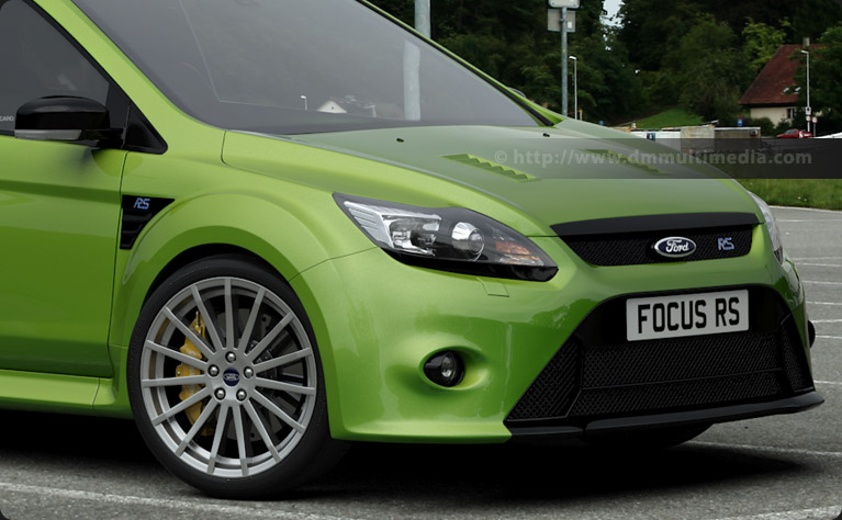 Ford Focus MK2 - refinement of front end, lights and wing mirrors
