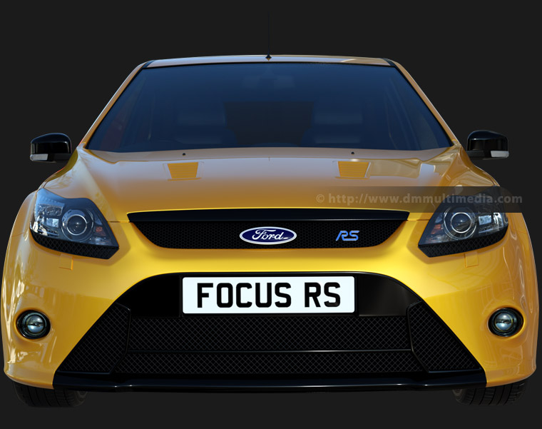 Ford Focus MK2 in Metallic Yellow