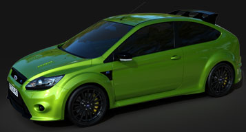 Iray render - Ford Focus RS
