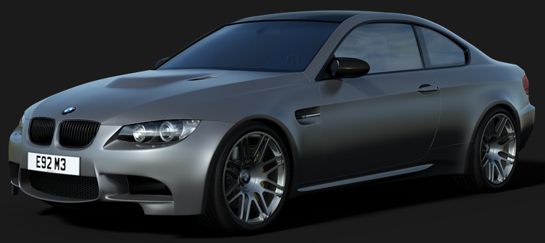 Arch & Design : Base layer Matte finish (like BMW Frozen Silver)