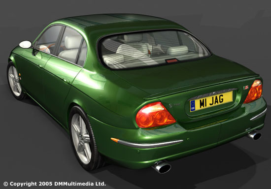 First stages of developing the jaguar s type model