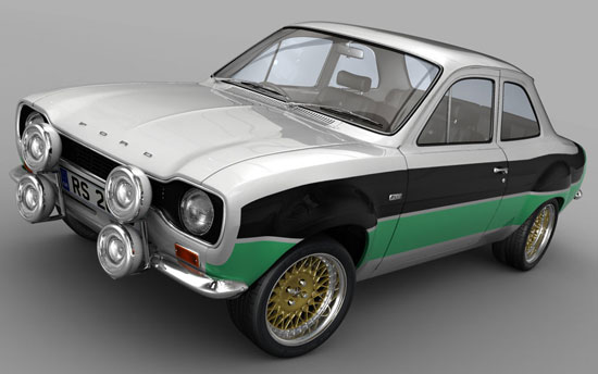 Classic Ford Magazine Project Escort