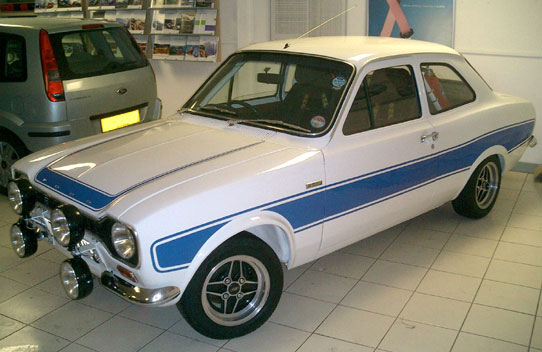 RS2000 in Ford Showroom
