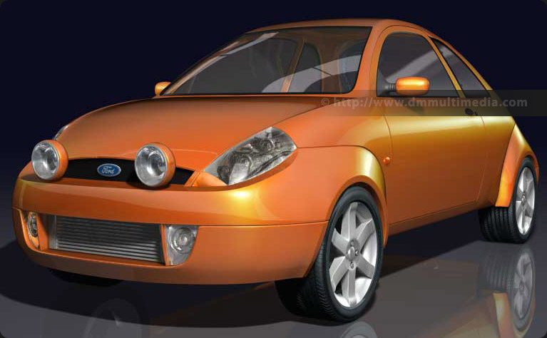Ford Sport KA - early render