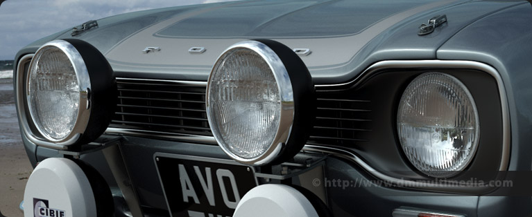 The same headlight (as shown above) on the Escort MK1 RS model