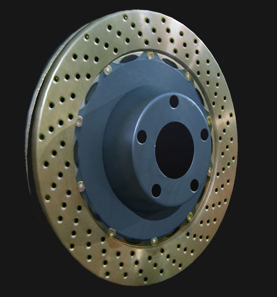 Mental Ray Brake Disc Mapped simple