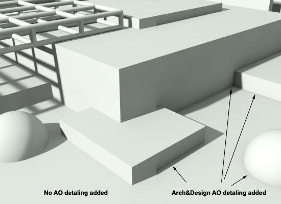 Arch&Design Ambient Occlusion Added
