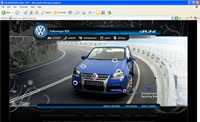 VW R32 Micro website
